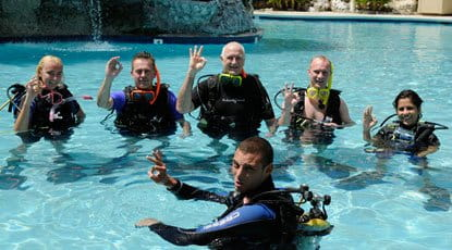 st thomas beginners scuba diving