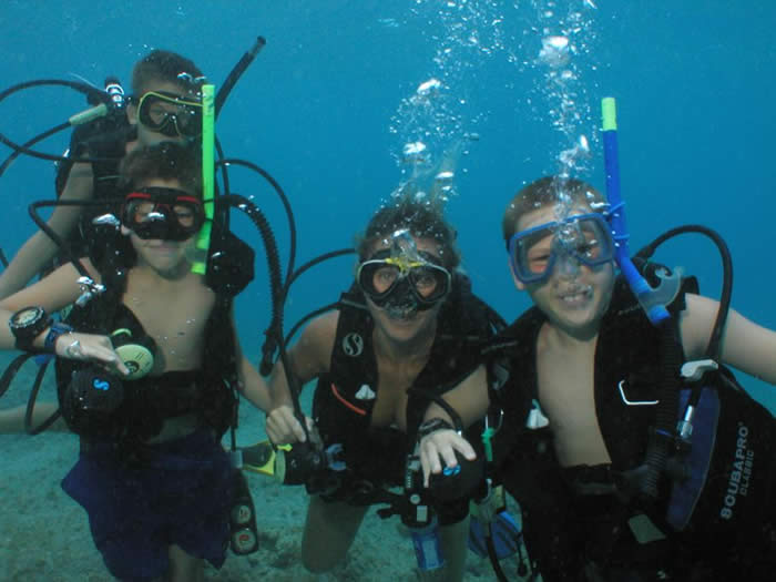 family scuba st thomas