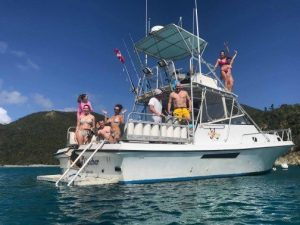 boat charter in st thomas usvi